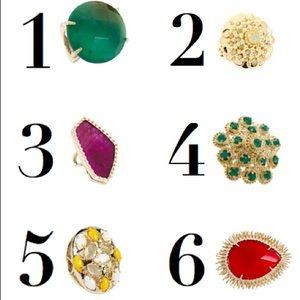 Kendra Scott Vintage Pink Agate Ring 💞